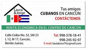 RENTA DE DEPARTAMENTOS EN CANCUN,MEXICO.