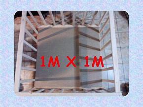 CORRAL DE MADERA 1M X 1M