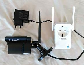 camara de seguridad wifi HD 720p