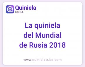 QuinielaCuba - la quiniela del Mundial Rusia 2018