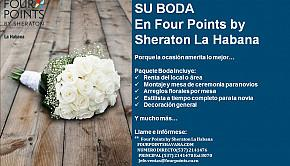 Su boda con Four Points by Sheraton Habana