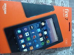 SUPERTABLET AMAZON KINDLE FIRE 7 with Alexa,QCore,1GB RAM,8GB interno
