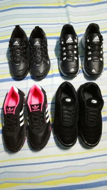 Zapatos negros Adidas talla 42 xtfqgivmDC