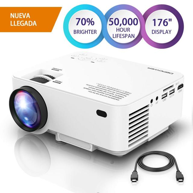 PROYECTOR HOME CINEMA HASTA 176 PULGADAS 30.000 HORAS 1500 Lumen HDMI 52844817