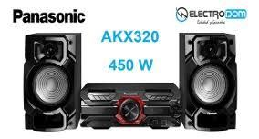 EQUIPO DE PANASONIC AKX 320 ---4950 W PMPO+CD+2 USB+BLUETOOTH-5/ 295_64___36
