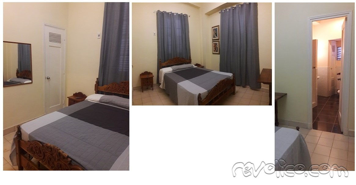 Full apartment for rent, 60m2, 6 blocks from University of Havana, Cel:+5352367333 wapp:+4915755289259Precio